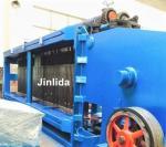 Zinc And Pvc Coated Fully Automatic Hexagonal Wire Netting Machine / Gabion Mesh Machine