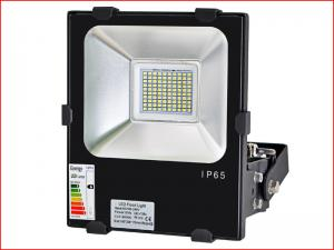 China Color Changing IP65 Outdoor Industrial LED Flood Lights With Meanwell Driver on sale