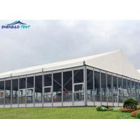 Sound Proof Luxury Garden Wedding Marquee With Glass Wall For Conference , Exhibition