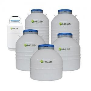 China Wide neck laboratory series liquid nitrogen tank on sale