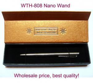 China Customized Zero Point Nano Energy Scalar Wand, Nano Energy Wand With Leather Package on sale