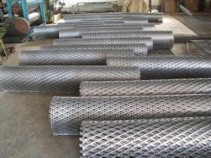 China Malla metálica ampliada aplanada del acero suave (fábrica ISO9001) on sale