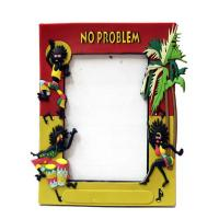 3D effect cartoon silicone/ soft pvc / plastic photo/picture frames open hot sexy girl