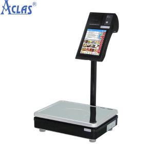 China Arm Pos Touch Scale,Label Printing Scale,Touch Label Scale on sale