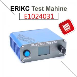 China ERICK diesel fuel injection pump test machine auto petrol pump testing machine and engine injector test bench used car on sale