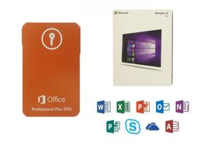 China Microsoft COA Sticker Office 2016 Professional Plus Product Key With 3.0 USB DVD Retail on sale