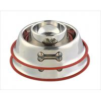 China Stainless steel dog bowl on sale