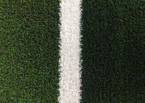 China PE + PP Indoor Sports Flooring / Fire Resistant Fibrillated Yarn Decorative Fake Grass on sale