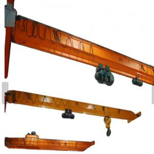 China Warehouse Single Girder Overhead Cranes 20T 7.5 - 32m Span Overload Protection on sale