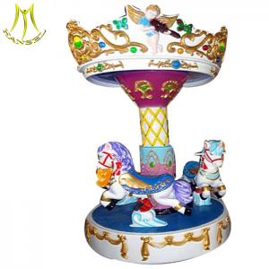 China Hansel   carousel horse for sale kids fairground rides for sale  pony carousel china on sale