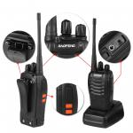Uhf Baofeng Bf-888s Professional Two Way Radios