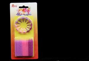 China Safety Grils Magic Dia 0.5cm Birthday Cake Candles on sale