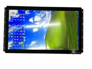 China Slim 24 Inch High Definition LCD Monitor USB Pro Capacitive Touch Screen Hdmi RGB LVDS Display on sale