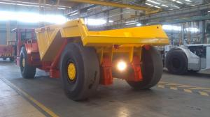 China Zero Pollution Atlas Copco Underground Trucks / Small Underground Mining Machines on sale