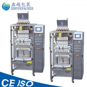 China Vertical Shape Stick Pack Packaging Machine 6 Lanes With High Packaging Rate on sale