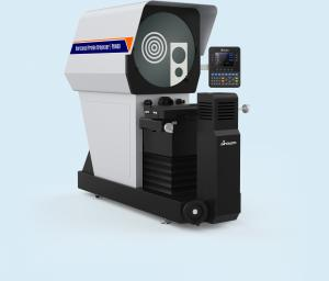 China Measuring Digital Optical Comparator , Adjustable Luminance Vertical Profile Projector on sale