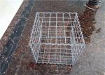 PVC Coated Welded Wire Mesh Gabions Rectangular Wire Mesh Baskets