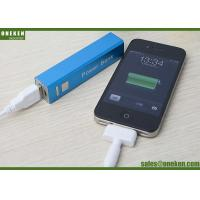 China Large Supply 2600mAh Lithium Polymer Battery Portable Mobile Phone Power Bank on sale