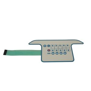 China Custom PCB Membrane Keypad  Switch With 3M9495MP / 3M7961MP Adhesive on sale
