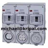 China RCD protected socket outlet on sale