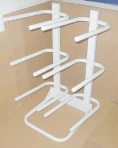 China Practical White / gray glitter water bottle racks for office, 5 gal water bottle stand on sale