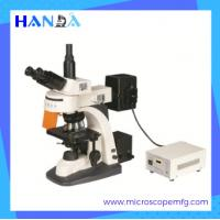 China HANDA inverted optical microscope phase contrast kit inverted fluorescence microscope on sale