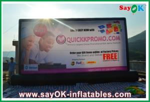 China PVC Inflatable Movie Screen Inflatable Billboard L9M x H5M For Advertising on sale