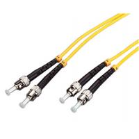 China Telecommunication Fiber Optic Patch Cord Single Mode with UPC / APC Polishing on sale