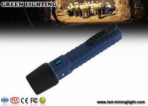 China IP68 explosion prevention flashlight / explosion proof rechargeable torch 1300lum brightness on sale