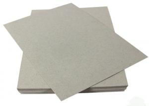 China Grade AA Thin Carton Cardboard Sheets 1mm Grey Card Board Paper on sale