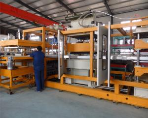 China Thermocol Vacuum forming automatic disposable PS foam plates manufacturing machine on sale