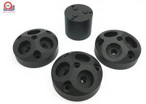 China Matt Black Anodized Micro Machined Components For Furniture Hardware on sale