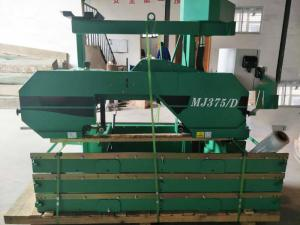 China MF375/D  Electric Type Automatic  Horizontal Band Saw Machine/Sawmil For Wood Cutting on sale