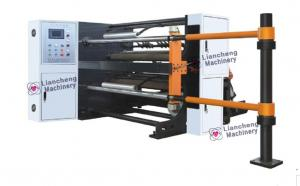 China 1300R High Speed Label Slitter Rewinder Machine With Slipped Air Shafts on sale