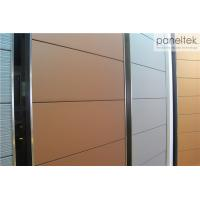 Sound Insulation Decorative Exterior Wall Panels For Terracotta Rainscreen System