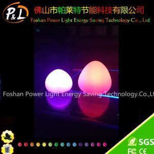 China Waterproof Float LED Egg Glow Illuminated LED Egg for Easter on sale