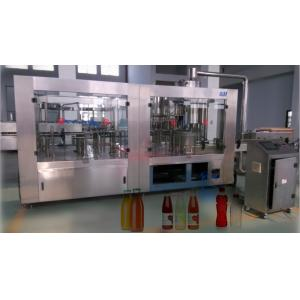 China Tea / Grapefruit Juice Filling Machine Industrial Soft Drink Bottling Equipment With ISO on sale