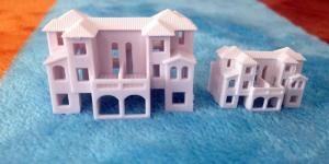 China model villa----model praetorium, architectural model, model quinta,ABS landscapes on sale