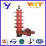 5KA Color Customized Polymer Surge Arrester Without Gap , 54KV Rated Voltage