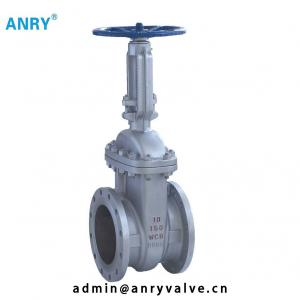 China 150~1500 CS Gate Valve Flanged A105 WCB Body 13CR Gate  RTJ Rising Stem Gate Valve Cast Steel on sale