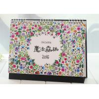 Custom Design Paper Calender Book Printing Services For Office / Home Furniture Accessories