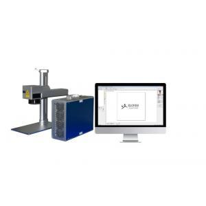 China Mini Portable Fiber Laser Marking Machine For Fork , Laser Marking Device on sale