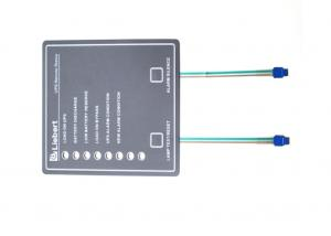 China Anti Oil Two Flexible Ribbon Circuit Flat Membrane Switch With Two Connectors on sale