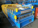 Glazed Tile Roofing Sheet Forming Machine8-12m/ Min Low Energy Consumption