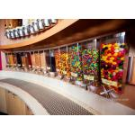 China Wall Mounted Perspex / Acrylic Candy Dispenser , Free Design Provided wholesale