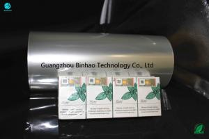 China Stiffness Enhanced Clarity PVC Packaging Film Cigarette Packing Materials Inner Core 76mm on sale