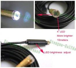 Quality Waterproof USB Cable Wire Endoscope Snake Inspection Camera E-04 for sale