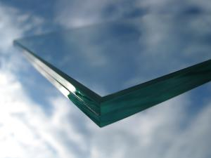 China ROCKY clear PVB double glazing laminated glass on sale