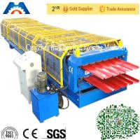 High speed double layer building used metal roofing roll forming machine