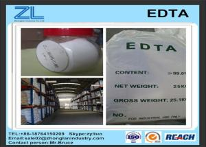 China White Ethylene diamine tetraacetic acid /  EDTA additive in Daily chemical on sale